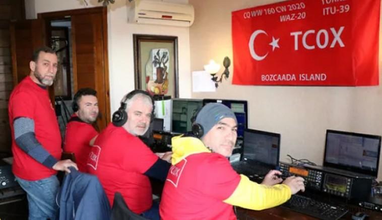 Amatör Telsizciler Bozcaada'dan telsiz etkinliğine katıldı!