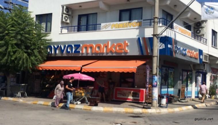Ayvaz Market Evlere Servise Başladı