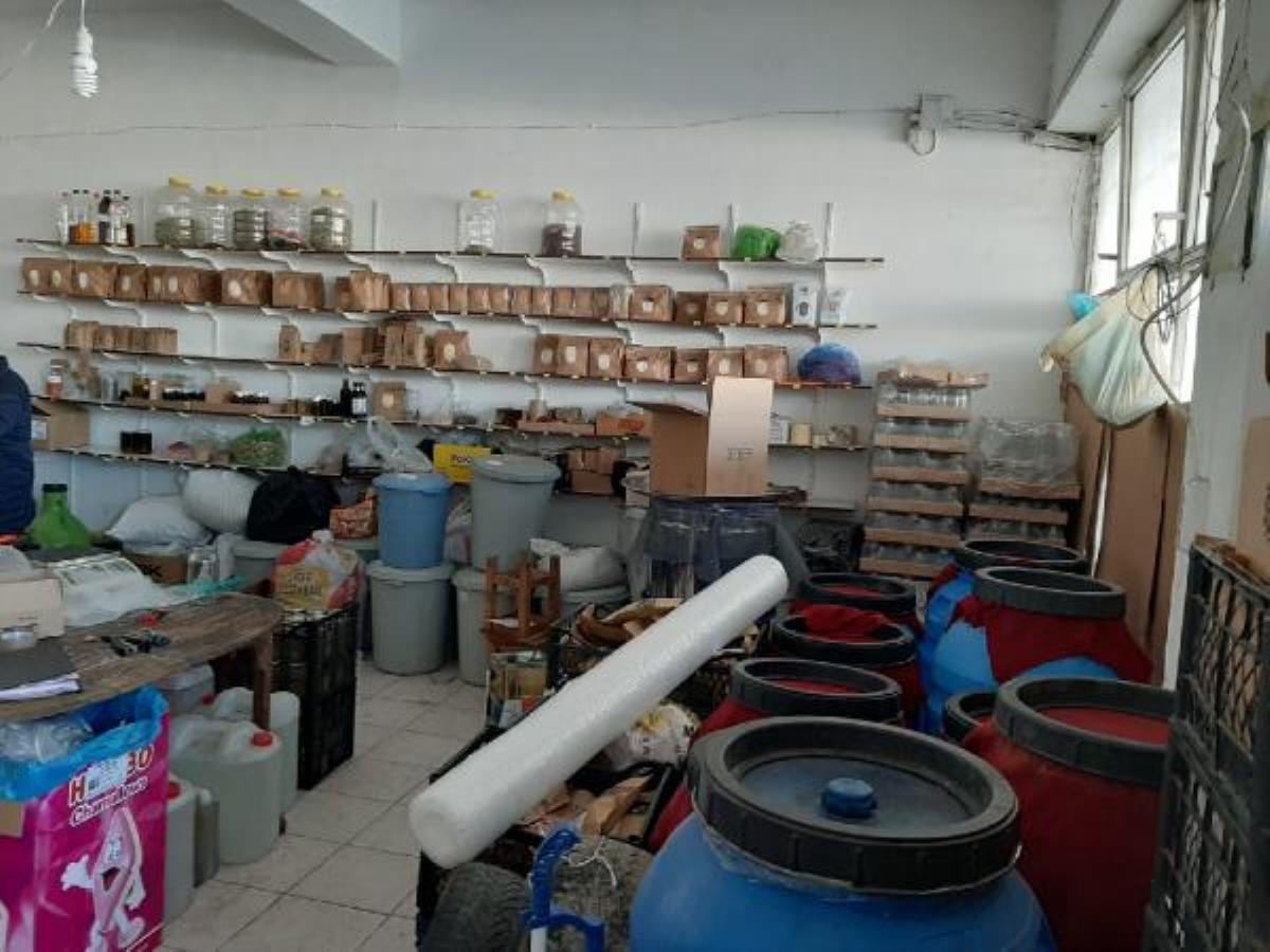 Bayramiç'te 'organik' adı altında satılan ürünlere el konuldu