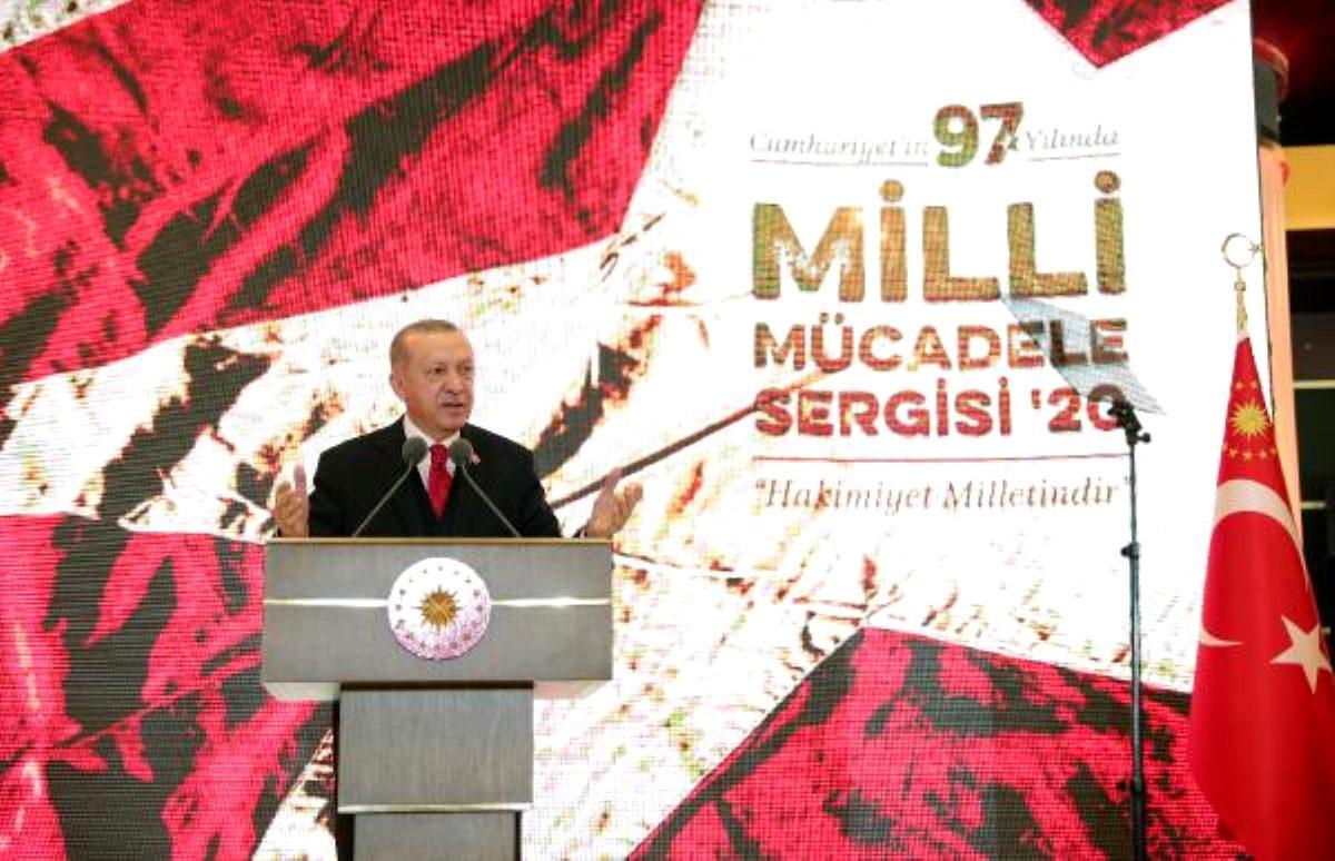 Cumhurbaşkanı Erdoğan: En büyük gücümüz bu tarihi mirasımız