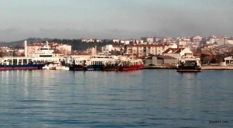 Feribot ile Balıkçı teknesi çarpıştı