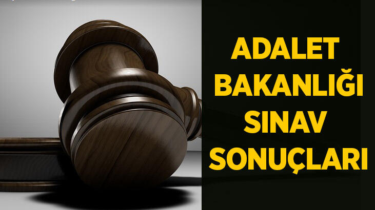Hakimlik sınav sonuçları açıklandı | ÖSYM Adalet Bakanlığı sınav sonuçları sorgulama
