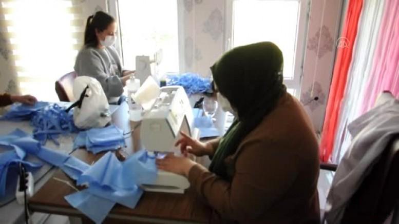 Maskeler Ezine'de üretiliyor!