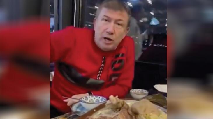 Restoranda yemek yerken görüntülenmişti... Tanju Çolak'a para cezası